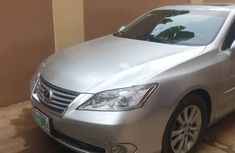 Nigeria Used Lexus ES 350 2010 Model Silver for Sale