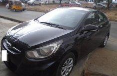 Nigeria Used Hyundai Accent 2014 Model Black