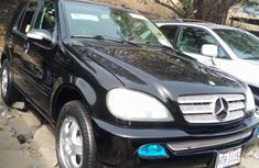 Foreign Used Mercedes-Benz ML 320 2001 Model Black