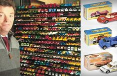Matchbox toy cars collection worth N141m by British man in 60 years