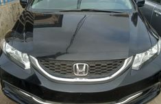 Foreign Used Honda Civic 2015 Model Black
