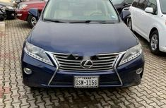 Foreign Used Lexus RX 2013 Model Blue