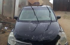 Nigeria Used Nissan Tiida 2005 Model Black