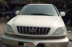 Foreign Used Lexus RX 2002 Model White
