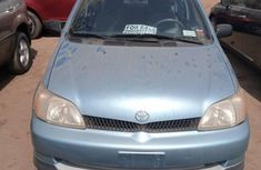 Foreign Used Toyota Echo 2002 Model Blue