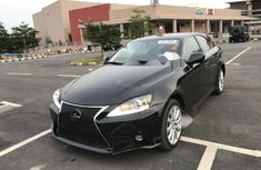 Foreign Used Lexus IS 2009 Model Black