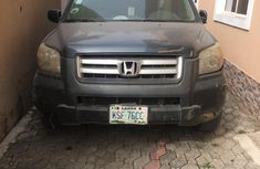 Nigeria Used Honda Pilot 2006 Model Green for Sale