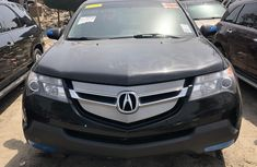 Foreign Used Acura MDX 2009 Model Gray for Sale