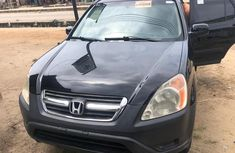 Foreign Used Honda CRV 2005 Model Black for Sale