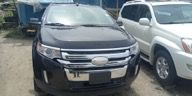 Foreign Used Ford Edge 2012 Model Black for Sale