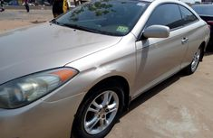 Foreign Used Toyota Solara 2006 Model Gold