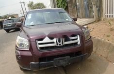 Nigeria Used Honda Pilot 2007 Model Red