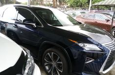 Foreign Used Lexus RX 2017 Model Blue