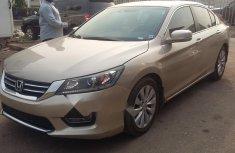 Nigeria Used Honda Accord 2013 Model Gold