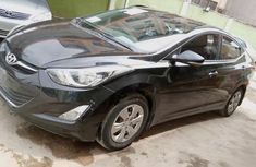 Nigeria Used Hyundai Elantra 2014 Model Black
