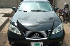 Nigeria Used Lexus ES 350 2008 Model Black for Sale