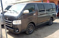 Foreign Used Toyota HiAce 2015 Model Green