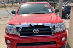 Foreign Used Toyota Tacoma 2007 Model Red