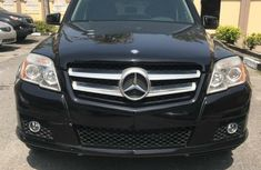 Foreign Used Mercedes-Benz GLK 2012 Model Black