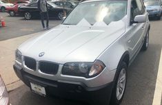 Foreign Used BMW X3 2006 Model Silver
