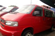 Tokunbo Volkswagen Transporter 2003 Model Red