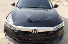 Foreign Used Honda Accord 2018 Model Black