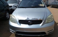 Foreign Used Toyota Matrix 2004 Model Silver