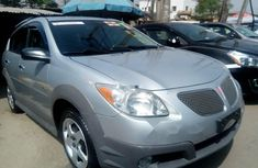 Foreign Used Pontiac Vibe Automatic 2006 Model Silver
