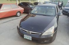Nigeria Used Honda Accord 2006 Model Black