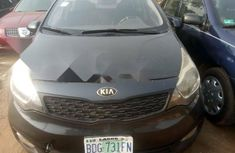 Manual Nigerian Used 2013 Dark Grey Kia Rio for sale in Lagos
