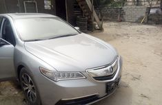 Foreign Used Acura TL 2015 Model Silver