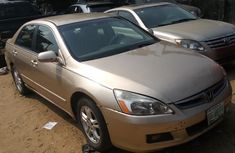 Nigeria Used Honda Accord 2006 Model Gold