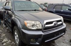 Foreign Used Toyota 4-Runner 2007 Model Grey