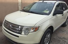 Foreign Used Ford Edge 2008 Model White for Sale