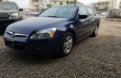 Foreign Used Honda Accord 2006 Model Black for Sale