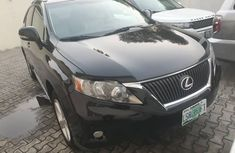 Nigeria Used Lexus RX 350 2011 Model Black