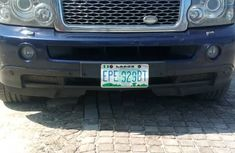 Nigeria Used Range Rover Sport 2008 Model Blue
