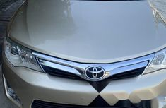 Foreign Used Toyota Camry 2012 Model Gold