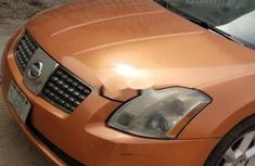 Nigeria Used Nissan Maxima 2005 Model Orange