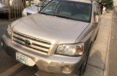 Nigeria Used Toyota Highlander 2006 Model Gold