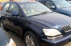 Nigeria Used Lexus RX 2002 Model Blue
