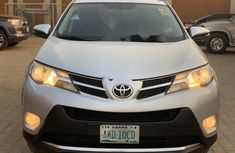 Nigeria Used Toyota RAV4 2015 Model Silver