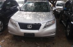 Foreign Used Lexus RX 2012 Model Grey