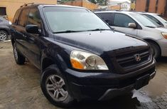 Foreign Used 2004 Black Honda Pilot for sale in Lagos
