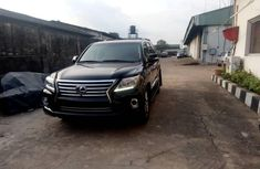 Foreign Used 2015 Black Lexus LX for sale in Lagos