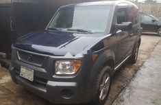Nigeria Used Honda Element 2005 Model Blue