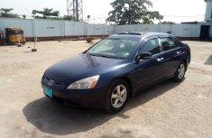 Nigerian Used Honda Accord EOD 2005 Model