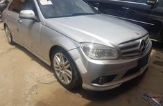 Foreign Used 2008 Silver Mercedes-Benz C300 for sale in Lagos.