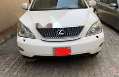Nigeria Used Lexus RX 2004 Model White