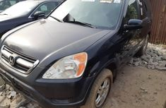 Foreign Used 2004 Black Honda CR-V for sale in Lagos